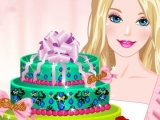 играть Barbies Diamond Cake
