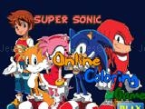 играть Super sonic online coloring game