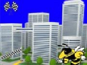 играть Bee race in the city