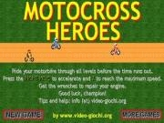 Play Motocross heroes now