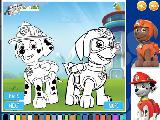 Play Paw patrol coloring now