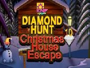 играть Knf Diamond Hunt 10 Christmas House Escape