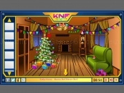 Play Knf Winter Wooden House Escape now