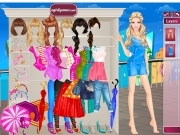 Play Barbie in the Rain Dress Up now