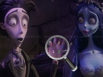 Play Hidden Numbers - Corpse Bride now